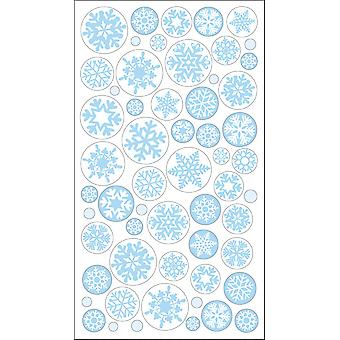 Sticko Stickers-Icy Snowflakes