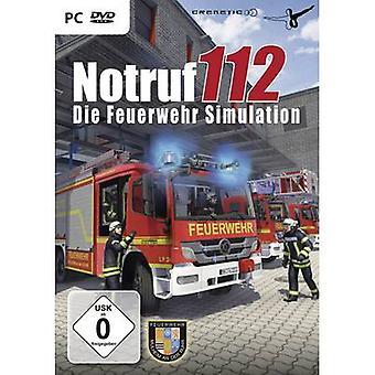 Notruf 112 - Die Feuerwehr Simulation PC USK: 0