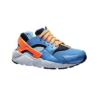 NIKE air Huarache run junior kids sneaker Blau
