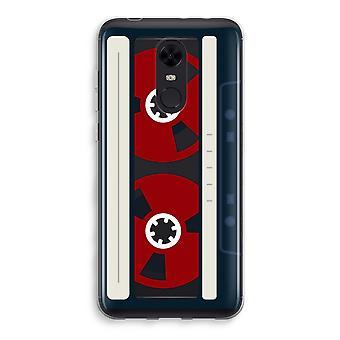 Xiaomi Redmi 5 Transparent Case (Soft) - Here's your tape