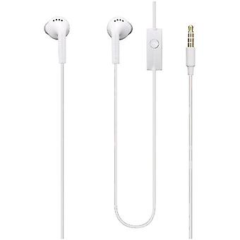 5 Pack -OEM Samsung 3.5mm Stereo Handsfree Headset - White (Universal)