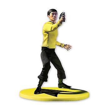 Star Trek Actionfigur One:12 Collective Hikaru Sulu bunt, aus Kunststoff, Uniform aus Stoff.