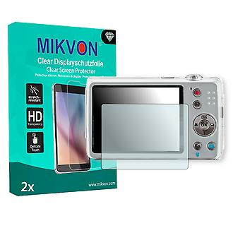 Praktica Luxmedia 20-Z50 Screen Protector - Mikvon Clear (Retail Package with accessories)