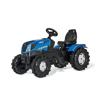 Rolly Toys New Holland T7 pedaal Tractor blauw en zwart
