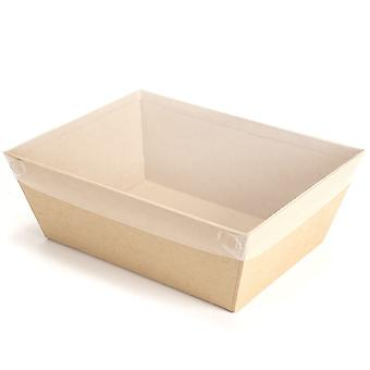 Single Small Clear Acetate Lids for 25cm Hamper Trays