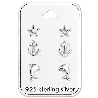 Sea - 925 Sterling Silver Sets - W28490x