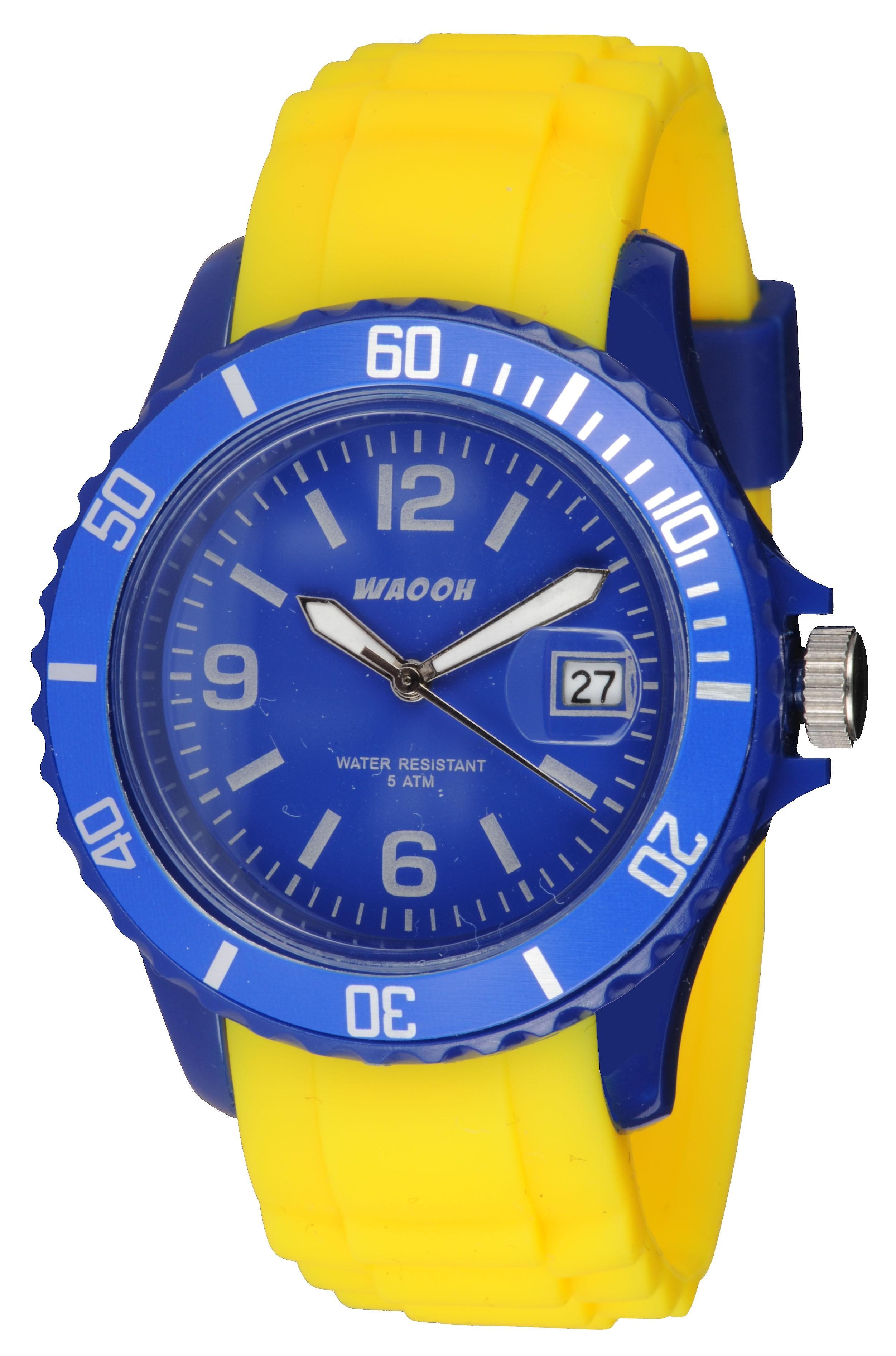 Waooh - Watch Silicone Monaco38 Bicolore