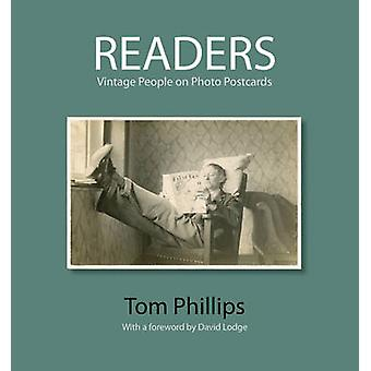 Readers - Vintage People on Photo Postcards by Tom Phillips - Bodleian