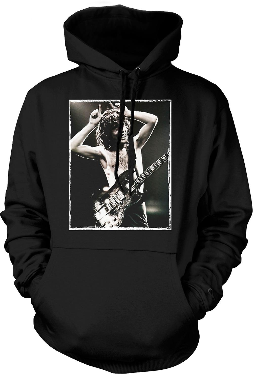 Kids Hoodie - AC/DC - Angus Young Portrait