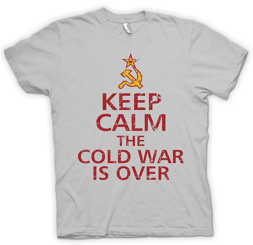 Mens T-shirt - Keep Calm The Cold War is Over