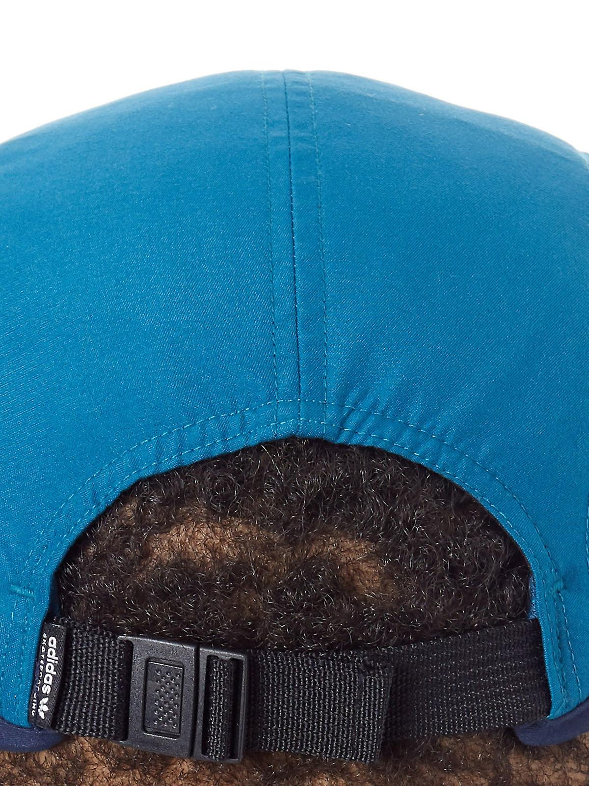88d01ecb16e Adidas Real Teal Court Five Panel Adjustable Cap