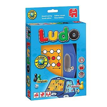 Jumbo 2-i-1 Ludo Original og Junior reise Edition Game