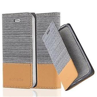 Cadorabo tapa uksessa Omena iPhone 4/iPhone 4S kotelon suojus-puhelimen kotelo, jossa magneetti sulkeminen, stand-toiminto ja kortti kotelo-kotelo suoja kotelo kotelo tapa uksessa kirja taitto tyyli
