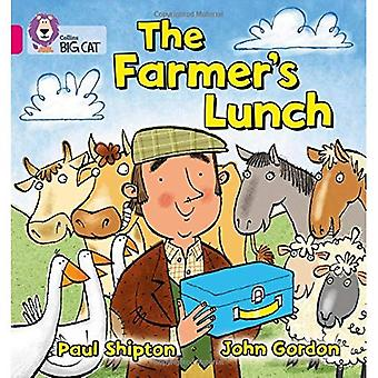 The Farmer's Lunch: Band 1A/Pink Phase 8, Bk 3 (Collins Big Cat)