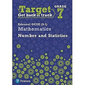 Target Grade 7 Edexcel GCSE (9-1) Mathematics Number and Statistics Workbook - Intervention Maths