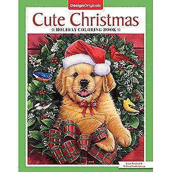 Schattig kerstvakantie Coloring boek