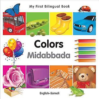 Min första tvåspråkiga bok-färger (Svenska-somaliska) (min första tvåspråkiga böcker)