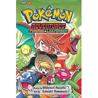 POKEMON ADVENTURES VOL GN 24 FIRERED LEAFGREEN