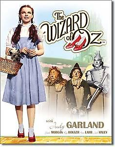 Wizard of Oz Dorothy/Toto metal sign    (ga)