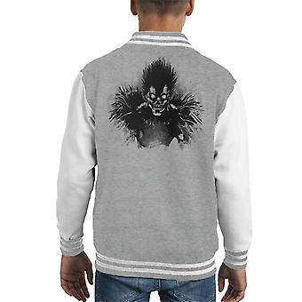 Death Note Bored Shinigami Kid's Varsity Jacket