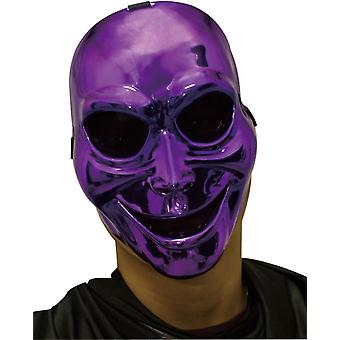 Sinister Ghost Purple Mask For Halloween