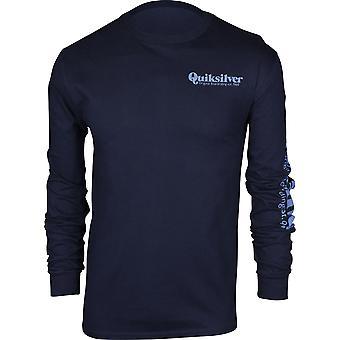 Quiksilver Herren Twin Fin Mates LS Shirt - Navy Blazer