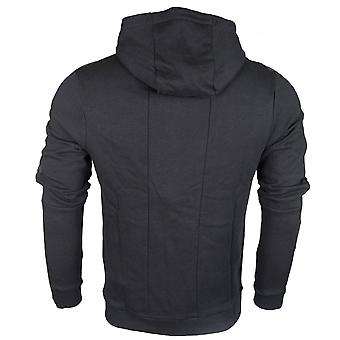 883 Police Erie Hart Cotton Zip Up Hooded Slim Fit Black Tracksuit