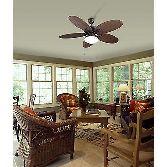 Ceiling fan Phuket Brown 132cm / 52