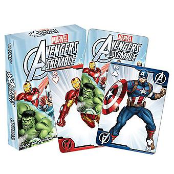 Marvel Avengers Assemble Youth Playing Cards