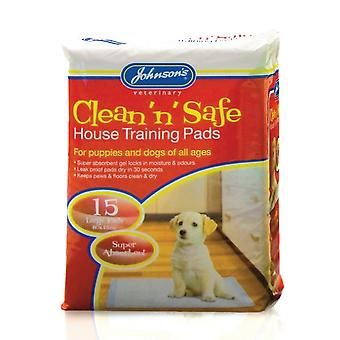 Johnsons Clean N Safe Large House Training Pads for Dogs