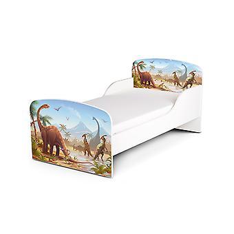 PriceRightHome Jurassic dinosaurer Toddler seng