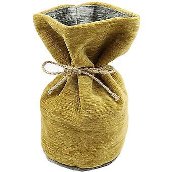 McAlister textilier Alston chenille gul + grå dörrs topp