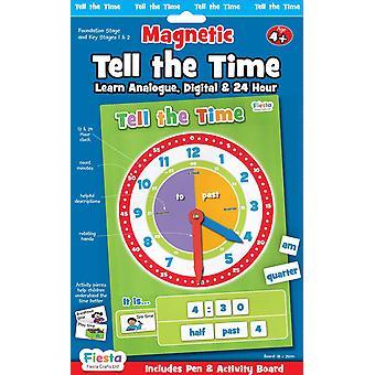 Fiesta Crafts magnetische vertel tijd