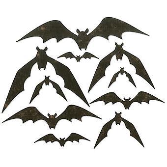 Sizzix Thinlits Die Set Bat Crazy Set of 10 by Tim Holtz