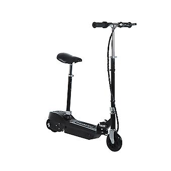 HOMCOM Electric E Scooter Ride on Battery Kids Children Toys Scooters 120W Motor 24V (Black)