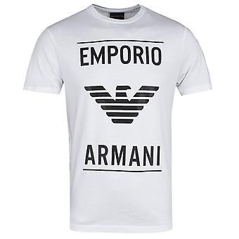 Emporio Armani Eagle ut hvit T-skjorte