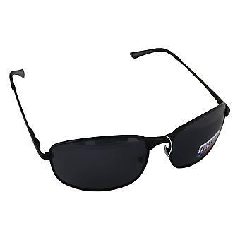 Sunglasses Sport Rectangle Polarizing Glass black FREE BrillenkokerS304_1