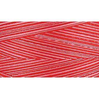 Natural Cotton Thread Variegated 3,281 Yards Ruby Red 3000Cv 9973