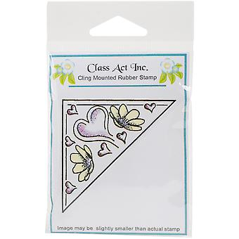 Class Act Cling Mounted Rubber Stamp 2.75