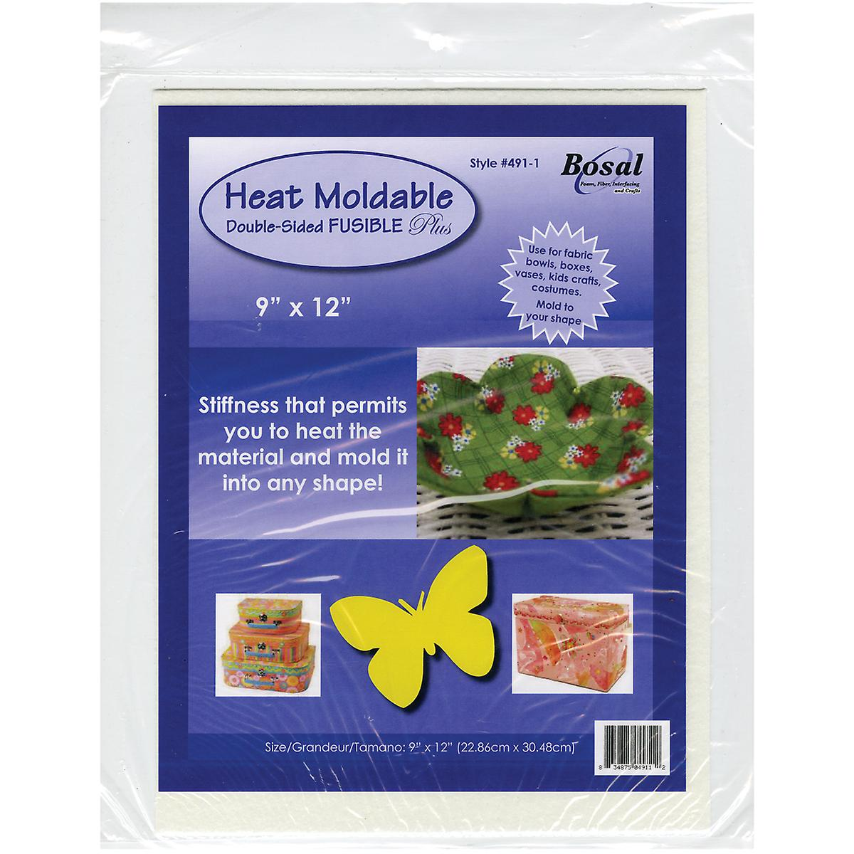 Heat Moldable Double Sided Fusible Plus 9