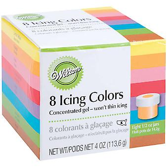 Icing Colors 1 2 Ounce 8 Pkg Assorted Colors W5577