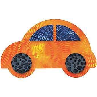 Go! Fabric Cutting Die Cute Car 5 1 2