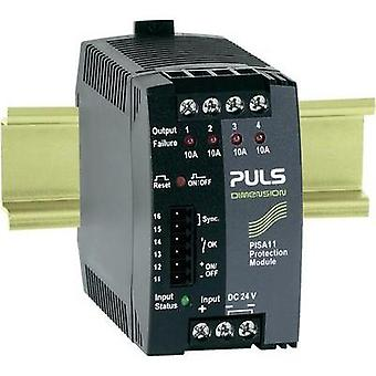 PULS DIMENSION PISA11.410, 4-Output DIN Rail Protection Module 24 V/DC 20 A