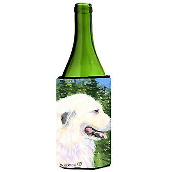 Great Pyrenees Wine Bottle Beverage Insulator Beverage Insulator Hugger SS8922LITERK