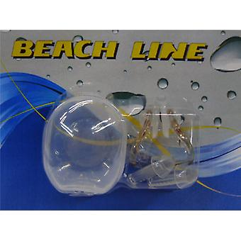 Beach Line Blister Clamp Ear Nose-Tapon (Outdoor , Pool And Water Games , Snorkel)