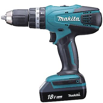 Makita 1.3 Ah Lithium 18V Hammer Drill 3 Batteries
