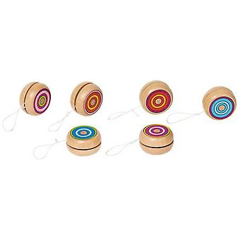 Goki Yo-Yo colourful rings (Outdoor , Garden Toys , Traditional Toys)