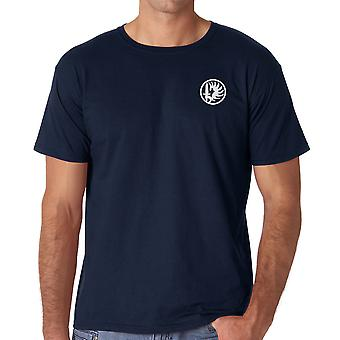 French Foreign Legion 2nd Paarchute Regiment - Embroidered Logo - Ringspun Cotton T Shirt