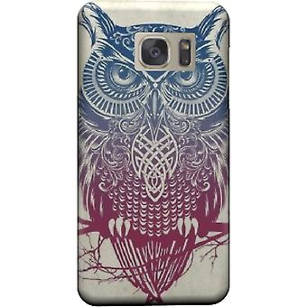 Vintage tribal owl for Galaxy cover Note 5