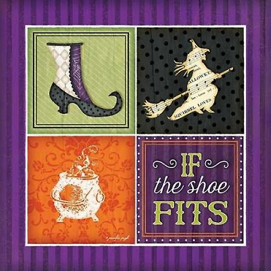If the Shoe Fits Poster Pugh Print by Jennifer Pugh Poster 6873ad